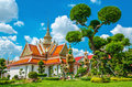 Great Palace Buddhist temple in Bangkok, Thailand Royalty Free Stock Photo