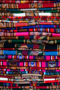 Great Peruvian fabric Stock Photography