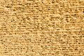 Great pyramid wall Royalty Free Stock Photo