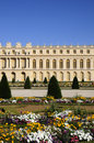 Great royal palace with garden Royalty Free Stock Images