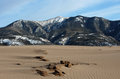 Great sand dunes national park the in alamosa colorado Stock Photos