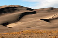 Great sand dunes national park the in alamosa colorado Royalty Free Stock Image