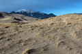 Great sand dunes national park the in alamosa colorado Stock Image