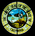 Great Seal of the State of California Royalty Free Stock Photography