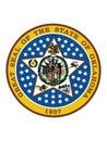 Great Seal of Oklahoma Native America Royalty Free Stock Photo