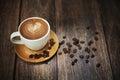 Velký záber z káva pohár