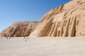 The Great and Small Temple of Abu Simbel, Egypt Royalty Free Stock Photography