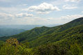 Great Smokey Mountain Range Royalty Free Stock Photo