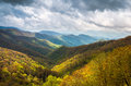 Great Smoky Mountains Outdoors Scenic Landscape Photography Cherokee North Carolina Royalty Free Stock Photo