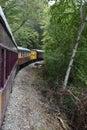 Great Smoky Mountains Railroad in Bryson City, North Carolina Royalty Free Stock Photo