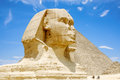Photo : The Great Sphinx of Giza. Egypt  panoramic