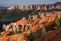 Great spires carved, Bryce Canyon Stock Photos