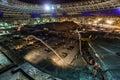 Great sport stadium construction Royalty Free Stock Photo
