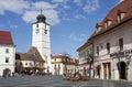 Great square in Sibiu Romania