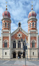 Great synagogue in plzen czech republic Royalty Free Stock Photography