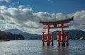 The great Torii Royalty Free Stock Photo
