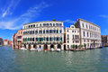 Great Venetian palazzo Royalty Free Stock Photo