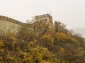 Great Wall in Autumn Season Royalty Free Stock Image