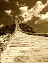 Great wall  china Royalty Free Stock Image