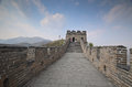 Great wall of china in badaling Stock Photo