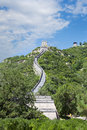 Great wall of china the beautiful view the Royalty Free Stock Image