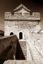 Great wall china beautiful view of of Royalty Free Stock Images