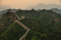 The Great Wall of China at Jinshanling Royalty Free Stock Photo