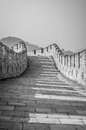 Great wall the of china at mutianyu Royalty Free Stock Images