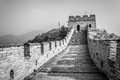 Great wall the of china at mutianyu Stock Photography