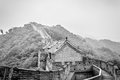 Great wall the of china at mutianyu Royalty Free Stock Photo