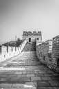 Great wall the of china at mutianyu Royalty Free Stock Image