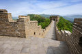 Great Wall of China in Summer Royalty Free Stock Photography