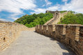 Great Wall of China in Summer Royalty Free Stock Photo