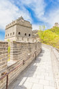 The great wall of china view Royalty Free Stock Photography