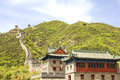 Great wall juyongguan china the Royalty Free Stock Images