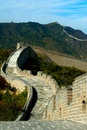 Great Wall on the mountain Royalty Free Stock Images