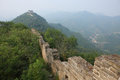 Great wall ruins outskirts beijing Royalty Free Stock Images