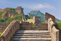 Great Wall in Summer Royalty Free Stock Photo