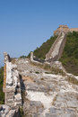 Great wall view of path Stock Photos