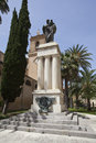Great war memorial alcamo sicily Royalty Free Stock Photography
