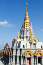 Great white pagoda Royalty Free Stock Photography