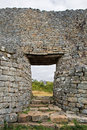 Great Zimbabwe Ruins Stock Photo