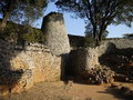 Great zimbabwe ruins part of the Royalty Free Stock Photos