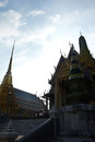 Greatest temple in thailand phra kaew temple wat is the Royalty Free Stock Image