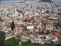 The Grecian City viewed from above Royalty Free Stock Photo