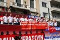 Grecja, Ateny, 18th Październik 2012 Obraz Stock