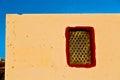 greece antique     window  europe    concrete Royalty Free Stock Photo