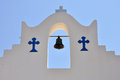 Greece church bell detail Royalty Free Stock Photo
