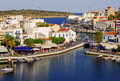Greece,Crete, Agios Nikolaos Royalty Free Stock Photo