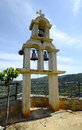 Greece, Crete, Bell tower Royalty Free Stock Photo